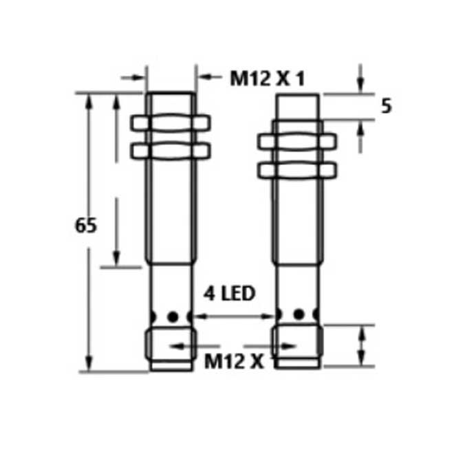 inductive proximity switches m12